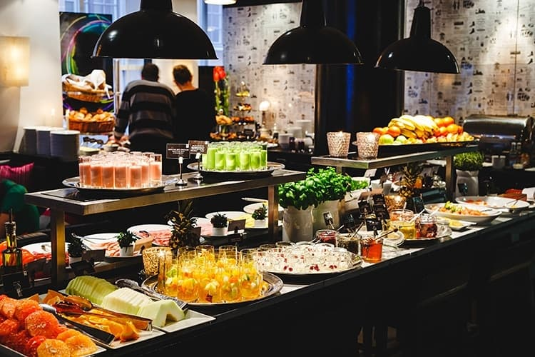 Mornington Hotel Stockholm Restaurant Menu
